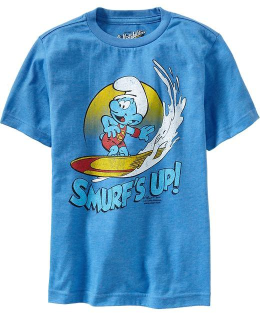 "Boys ""Smurf's© Up"" Tees"