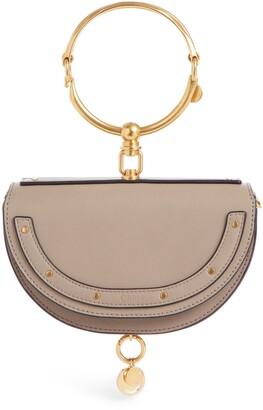 Chloé Small Nile Bracelet Calfskin Leather Minaudiere
