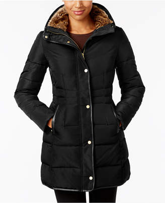 Cole Haan Faux-Fur-Lined Puffer Coat