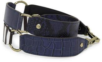 Henri Bendel Color Blocked Novelty Bag Strap