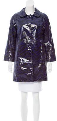 Marc by Marc Jacobs Coated Printed Jacket