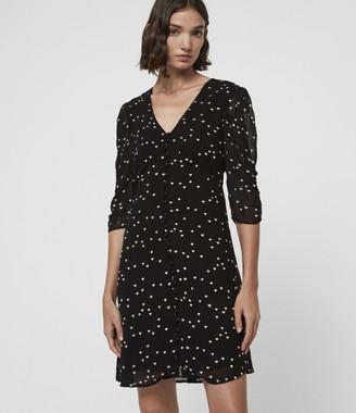 AllSaints Malie Hearts Dress