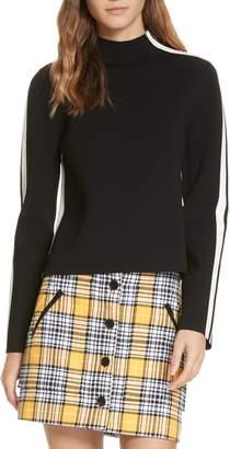 Veronica Beard Retha Side Stripe Sweater