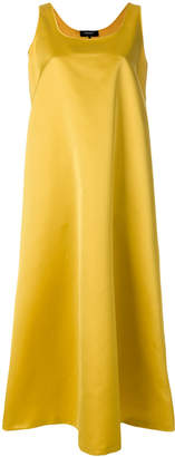 Rochas A-line satin tank dress