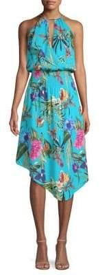 Parker Herley Floral Popover Dress