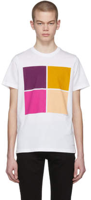 Paul Smith White Graphic T-Shirt