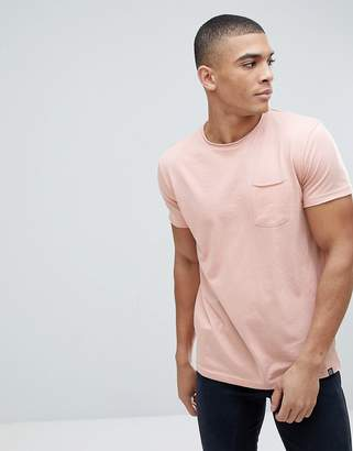 Solid T-Shirt In Pink