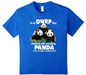 It's an OWEP thing Obsessed with Everything Panda T-shirt