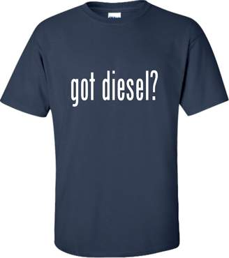 Diesel Go All Out Screenprinting Adult Got Diesel? Funny T-Shirt