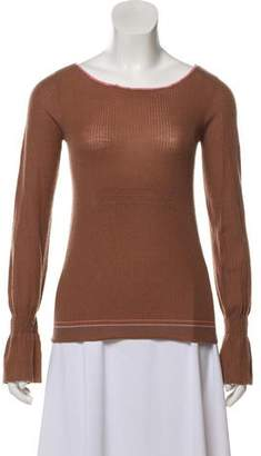 Marc by Marc Jacobs Ruched Cashmere Top