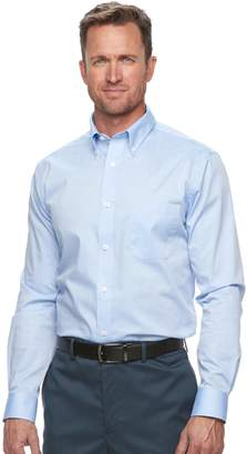 Croft & Barrow Men's Croft & Barrow?? Classic-Fit Easy Care Button-Down Collar Dress Shirt