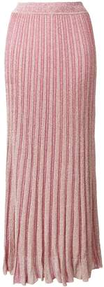 Missoni long knitted skirt
