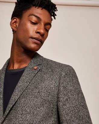 ead3bb8afe7c14 Ted Baker SNIPES Slim semi plain wool jacket