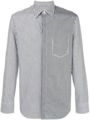 Maison Margiela contrast patterned shirt
