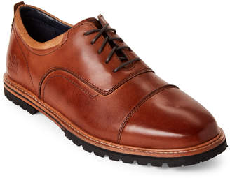 Cole Haan Mesquite Handstain Raymond Grand Leather Oxfords