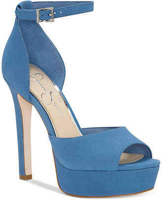 Jessica Simpson Beeya Two-Piece Platform Sandals Women's Shoes