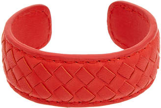 Bottega Veneta Intrecciato Leather Cuff