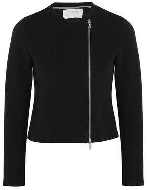 Harris Wharf London Asymmetric Ribbed Cotton-Blend Jacket