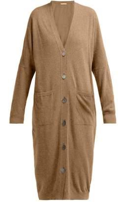 Queene And Belle - Kennedy Long Wool Cardigan - Womens - Beige