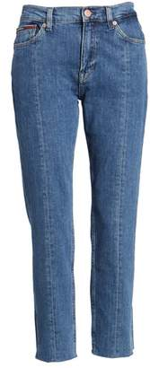 Tommy Jeans Izzy High Rise Center Seam Slim Jeans