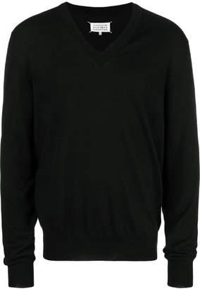 Maison Margiela (メゾン マルジェラ) - Maison Margiela Vネック セーター