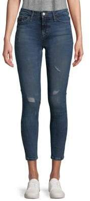 Calvin Klein Jeans Distressed Skinny Ankle Jeans