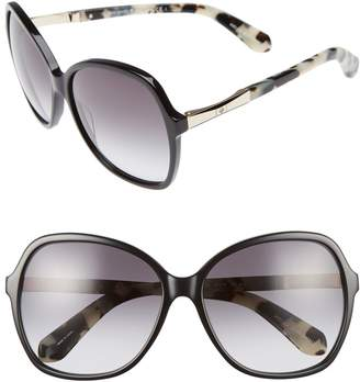 Kate Spade Jolyn 58mm Sunglasses