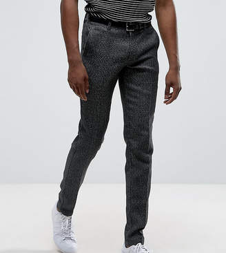 Selected Skinny Smart Salt N Pepper Pants