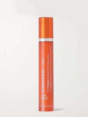 Dr. Dennis Gross Skincare C+ Collagen Brighten And Firm Eye Cream, 15ml