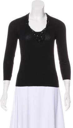 Celine Embellished Cashmere Sweater