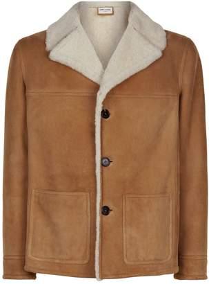 Saint Laurent Shearling Aviator Jacket