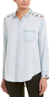 DL1961 Premium Denim Nassau & Manhattan Chambray Shirt