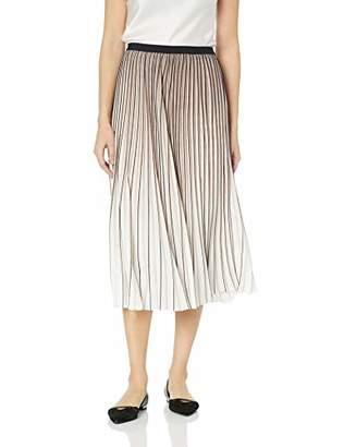 Nic+Zoe Women's Pleat Pattern Skirt
