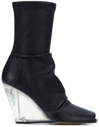 Rick Owens Leather ankle boot