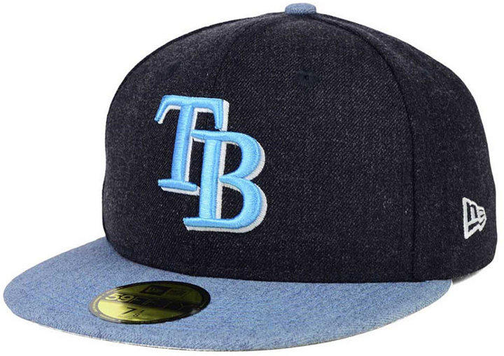 New Era Tampa Bay Rays Heather Action 59FIFTY Cap