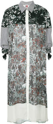 I'M Isola Marras patchwork shirt dress