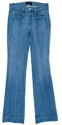 Vince Mid-Rise Straight-Leg Jeans