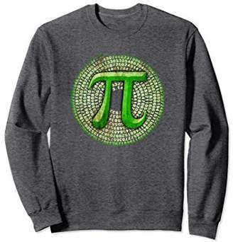 Pi Official 3.14 Spiral Day Sweatshirt for Math Nerds