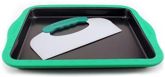 Berghoff Perfect Slice Big Cookie Sheet with Silicone Sleeve & Tool