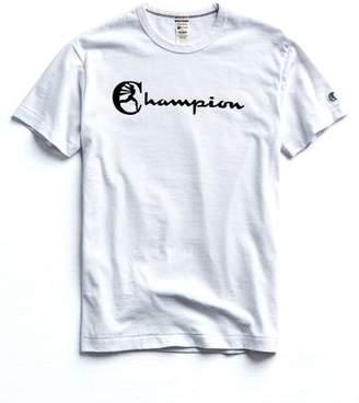 Todd Snyder + Champion CHAMPION heat transfer graphic TEE in WHITE