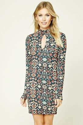 Forever 21 Contemporary Geo Print Dress