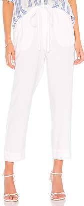 Bella Dahl Ruffle High Waisted Trouser