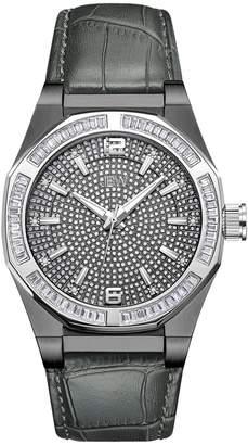 JBW Men's Apollo Stainless Steel Watch, 44mm