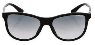 Prada Round Logo Sunglasses