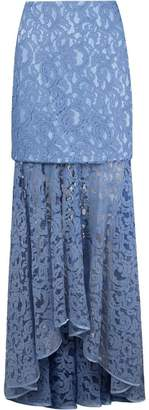 Martha Medeiros 'marescot' lace maxi skirt