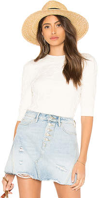 Free People Eden Short Sleeve Top