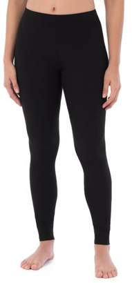 Fruit of the Loom Women's Waffle Thermal Undewear Pant