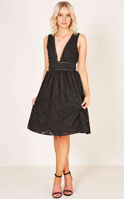 Showpo Just Another Love dress in black