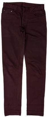 Balenciaga Waxed Skinny Jeans
