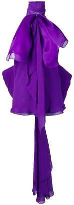Redemption ruffle tie blouse